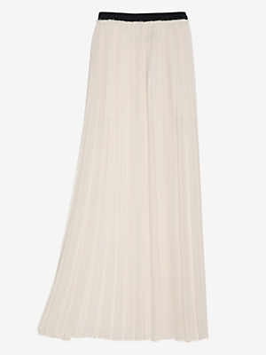 Enza Costa Exclusive Pleated Full-length Skirt