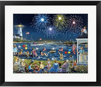 Lee Seaside On The Fourt By Sheila Framed Art