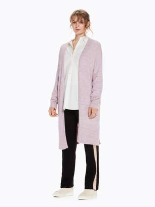 Scotch & Soda Longline Fluffy Wool Cardigan