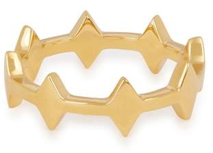 Missoma Nexus 18ct Gold Vermeil Ring