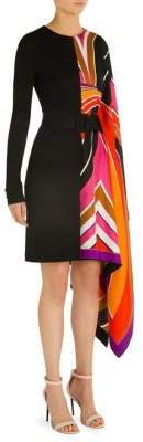 Emilio Pucci Caftan Belted Dress