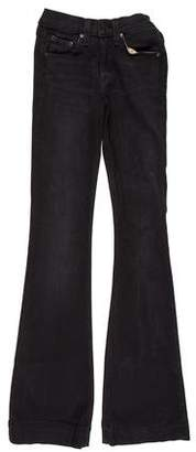 Rag & Bone High-Rise Bell Bottom Jeans