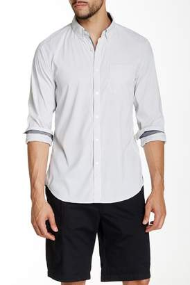 Kenneth Cole New York Striped Long Sleeve Slim Fit Shirt