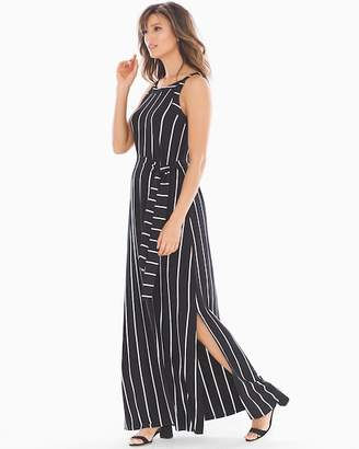Soft Jersey Apron Maxi Dress