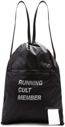 Satisfy The Gym nylon backpack