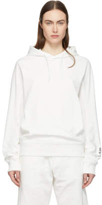 Y-3 White New Classic Hoodie
