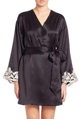 La Perla Vestaglia Corta Silk Robe