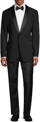 Armani Collezioni Classic-Fit Shawl Collar Wool Tuxedo