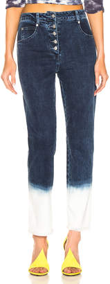 Miaou Junior Jean in Indigo & White | FWRD