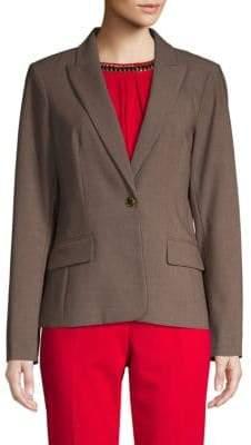Calvin Klein Luxe Single-Button Blazer