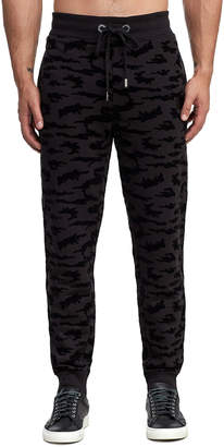 True Religion CAMO FLOCKED SWEAT PANT