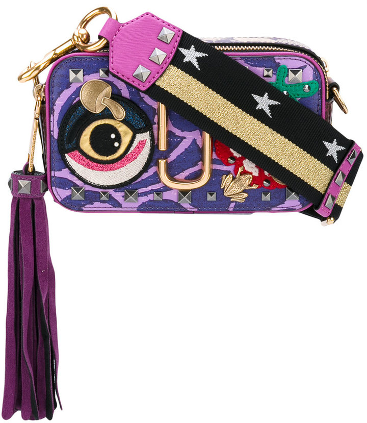 Marc Jacobs Marc Jacobs Tapestry Snapshot camera bag