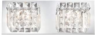 ELK Lighting Crown 2-Light Bathroom Vanity Lights