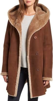 HiSO Hooded Merino Shearling Coat