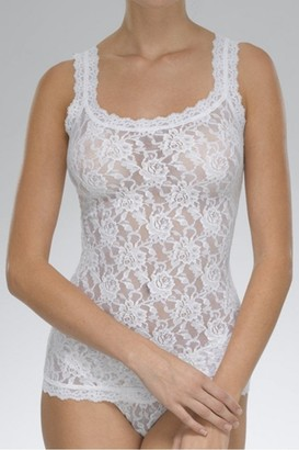 Hanky Panky Signature Lace Classic Camisole In White - Small