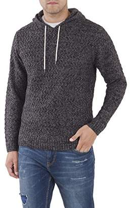 UNIONBAY Men's Drawcord Sweater Hoodie