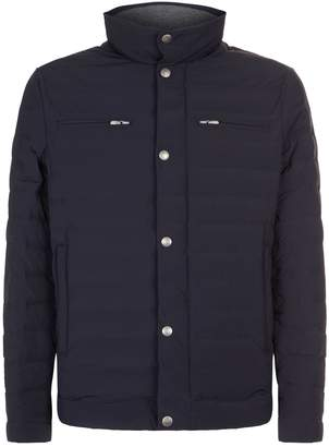 Brunello Cucinelli Quilted Zipped Jacket
