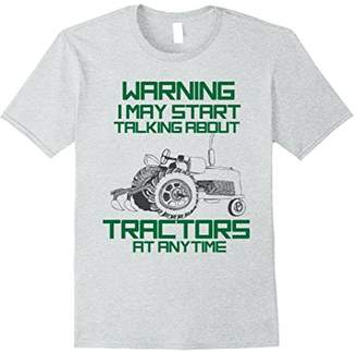 Funny Tractor Farming Tee Shirt Gift for a Tractor Lover