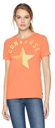 Converse Split Star Short Sleeve Crew T-Shirt