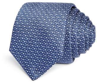 HUGO Micro Diamond Silk Skinny Tie