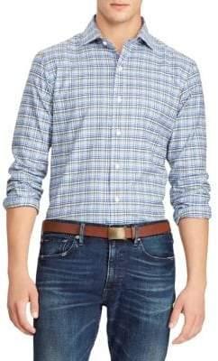 Polo Ralph Lauren Twill Plaid Button-Down Shirt