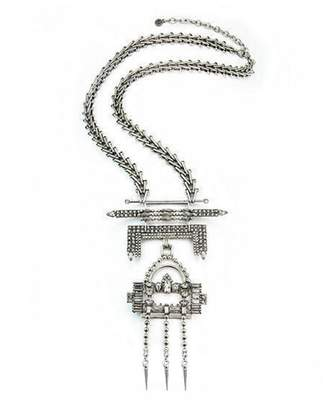 Factory PSEZY_VINTAGE_Necklace PSNECK Elegant Vintage DYLA Chain Chunky Maxi Statement Necklace Pendants Jewelry price