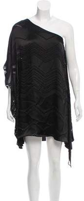 Ella Moss One-Shoulder Mini Dress
