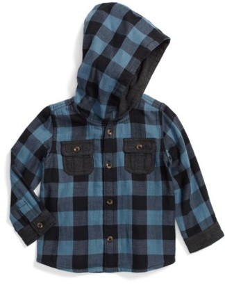 Infant Boy's Tucker + Tate Double Cloth Button Hoodie $35 thestylecure.com
