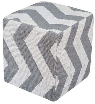 Surya Indoor Pouf From The Picnic Ii Collection