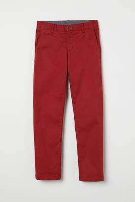 H&M Chinos - Red