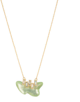 Alexis Bittar Dancing Baguette Freeform Pendant Necklace