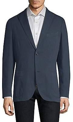 Boglioli Men's Regular-Fit Cotton Hopsack Blazer