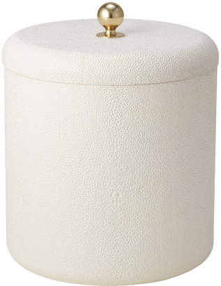 AERIN Shagreen Ice Bucket - Cream