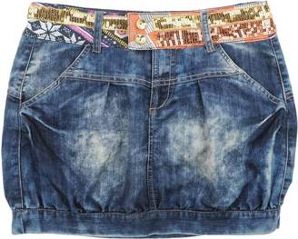 Desigual Denim skirts - Item 42579109JX
