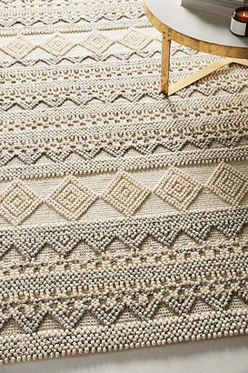 Anthropologie Pointillist Geo Rug Swatch