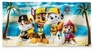Nickelodeon PAW Patrol Beach Towel Blue and Yellow