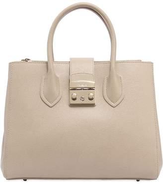 Furla Metropolis Saffiano Leather Tote Bag