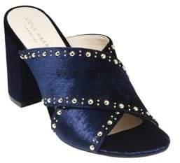 Cole Haan Gabby Studded Velvet Sandals
