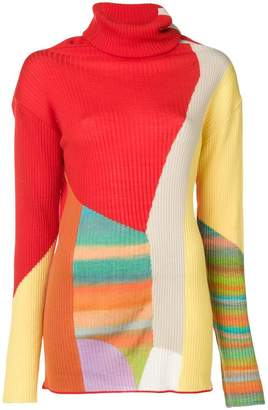 Tsumori Chisato colour block sweater