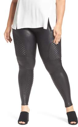 Spanx R) High Waist Moto Leggings