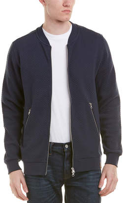 Knowledge Cotton Apparel Knowledgecotton Quilted Zip Cardigan