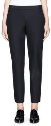 Theory 'Thaniel' cropped twill pants
