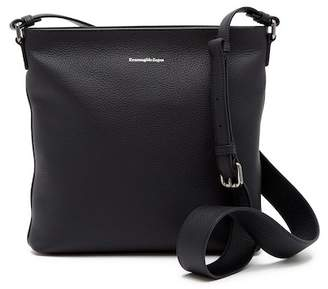 Ermenegildo Zegna Leather Crossbody Bag