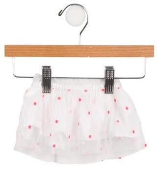 Billieblush Girls' Embroidered Mesh Skirt