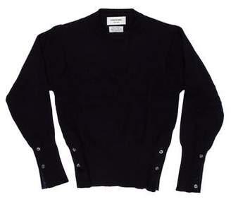 Thom Browne Cashmere Crew Neck Sweater