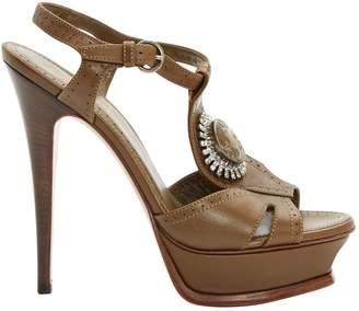 Saint Laurent Leather sandals