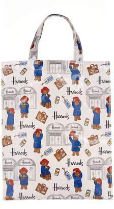 Harrods Medium Paddington Bear Shopper Bag