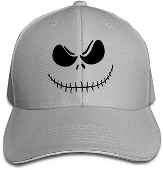 Burton OOERTY Jack Skellington Tim Logo Baseball Hats Match Sandwich Cap Cap