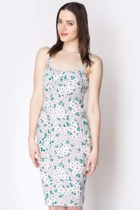 Loren Geminola Grey Sophia Dress
