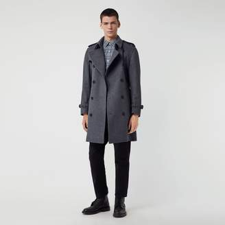 Burberry Wool Cashmere Trench Coat , Size: 48